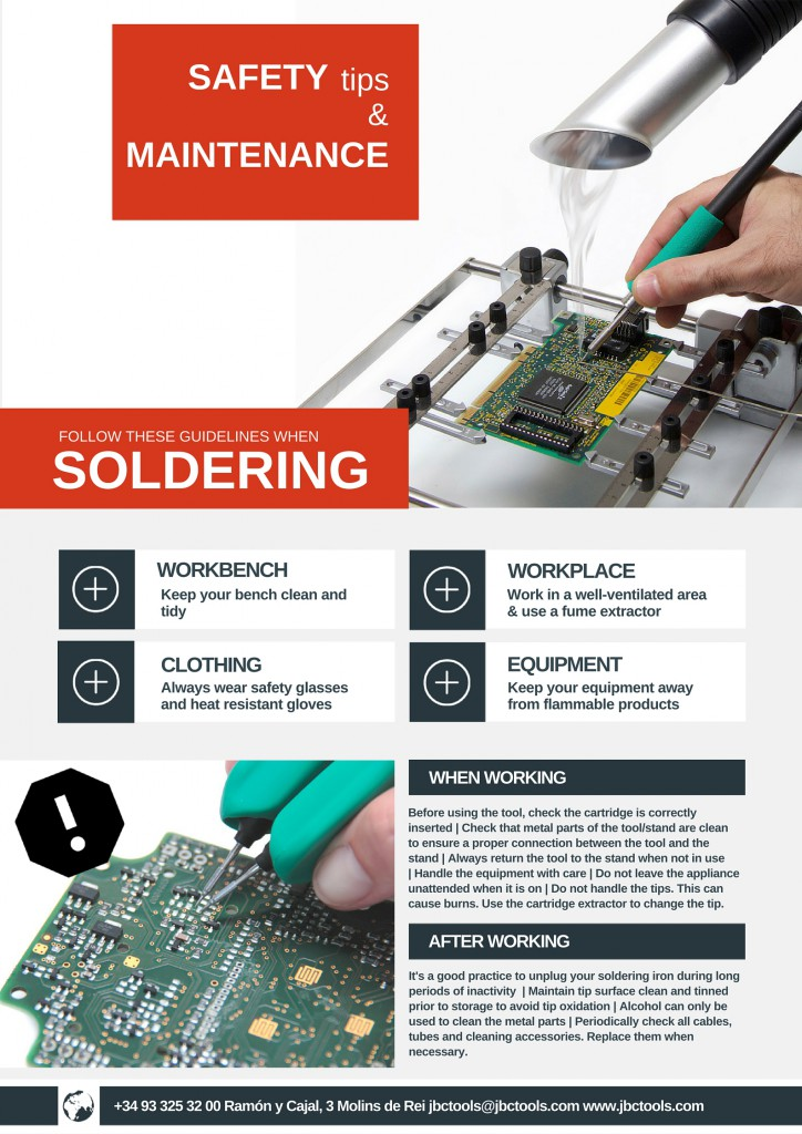 safety soldering tips