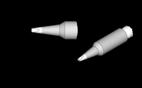 6 Stück 0,6x0,3mm C210-021 für T210-A//AD-2210 0,5mm Cartridge JBC C210-013