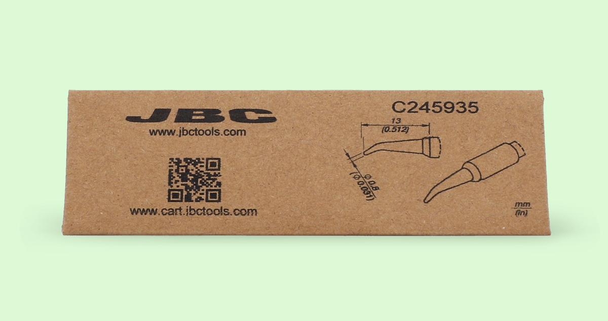 JBC Eco Friendly Cartridge Packaging