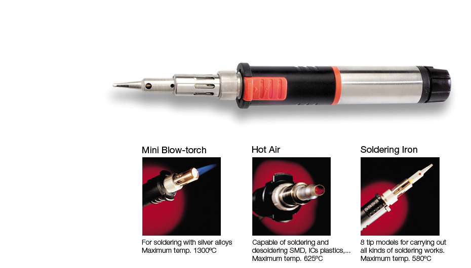 0201070 - SG1070 Gas Soldering Iron
