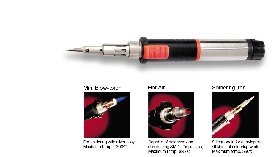 0201070 - SG1070 - Gas Soldering Iron