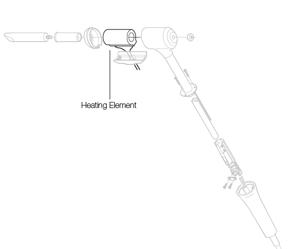 0352830 - Heating element for 325S soldering iron