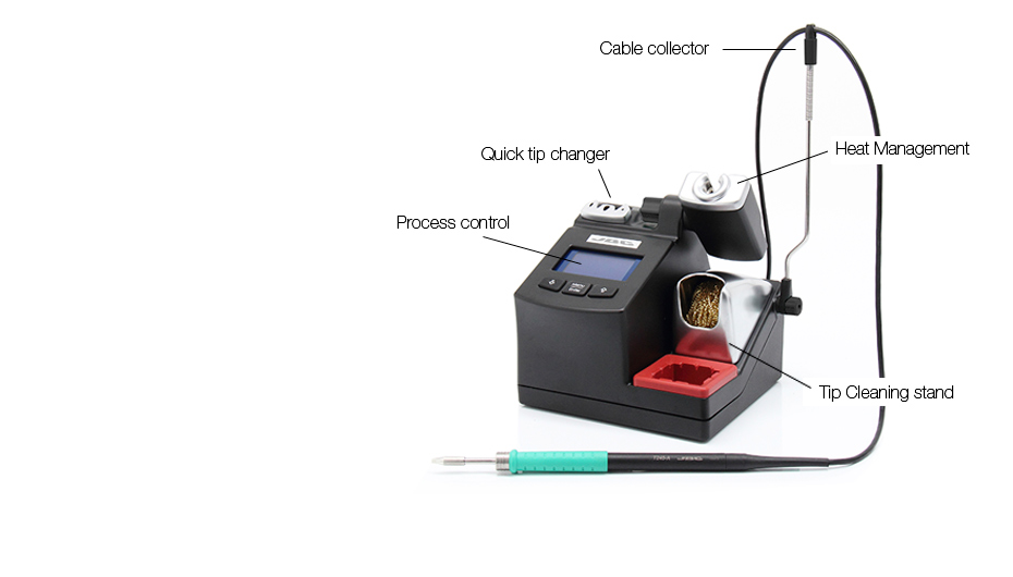 CD-2BC - Soldering station for general purposes