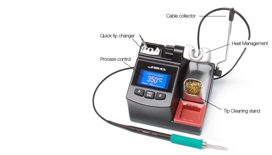 CD-2BD - Soldering station for general purposes