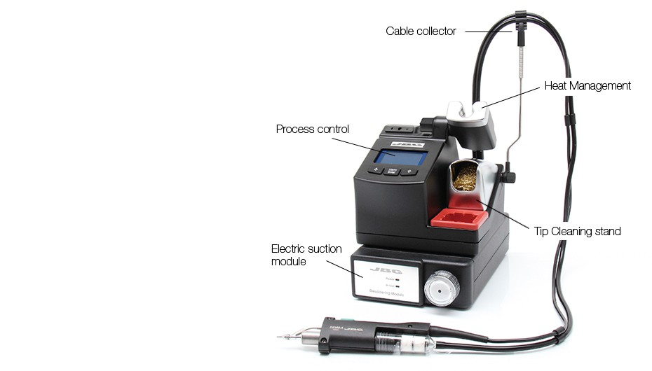 CS-1C - Desoldering station with Electric Pump