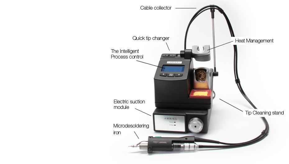 CS-9B - Microdesoldering station with electric pump
