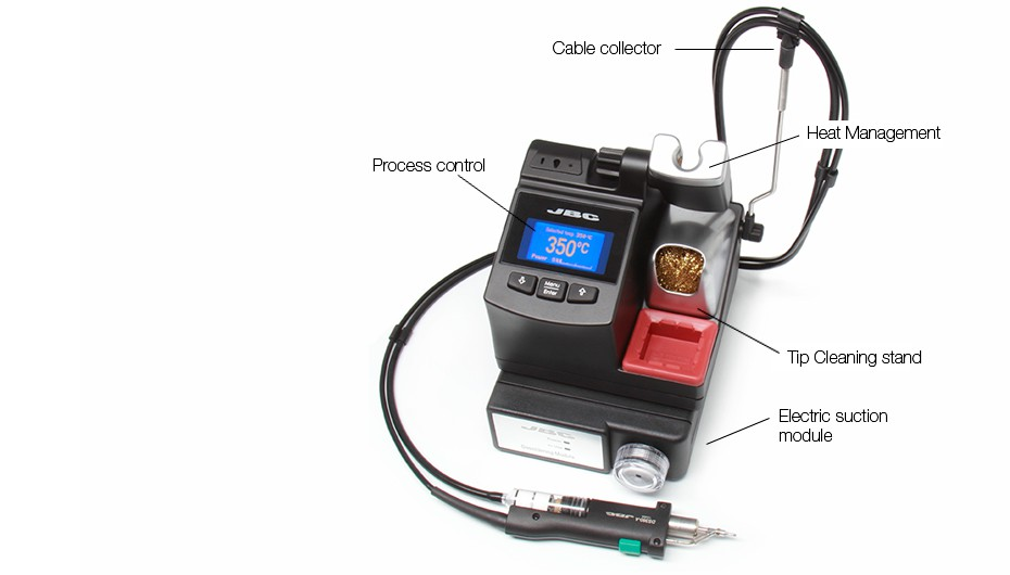 CS-9D - Desoldering station with Electric Pump