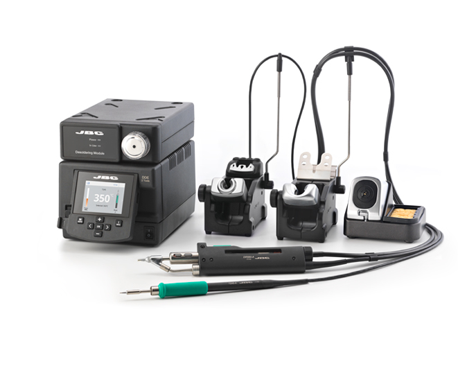 DDSE-2B - 2 Tools Rework Station with Electric Pump