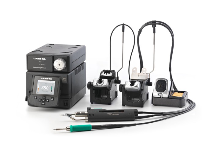 DDSE-9B - 2 Tools Rework station with Electric Pump