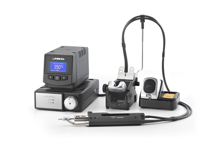 DIV-2D - Desoldering station with pneumatic suction module