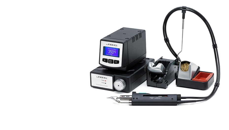 DIV-9B - Desoldering station with pneumatic suction module