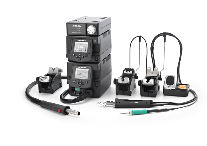 RMSE-2D - Complete Rework station with Electric Pump