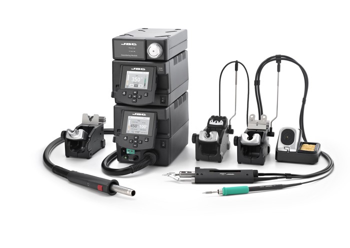 RMSE-9D - Complete Rework station with Electric Pump