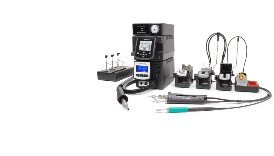 RMVE-2B - Complete Rework station with Pneumatic Pump