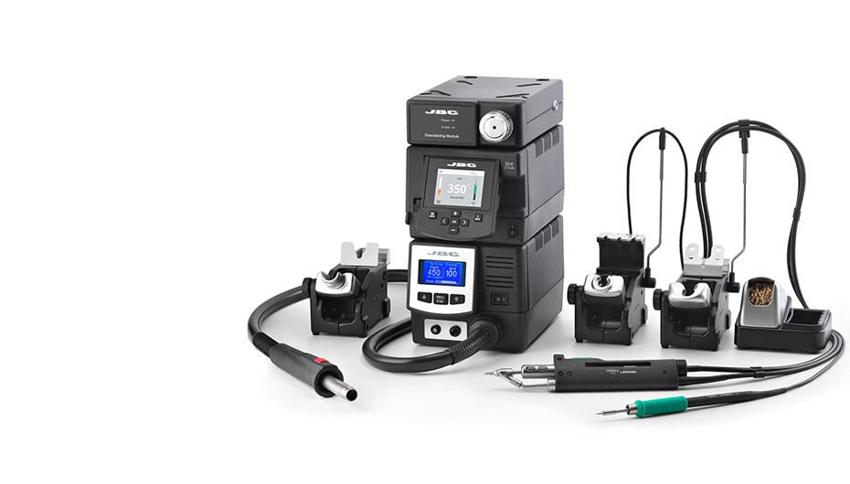 RMVE-2C - Complete Rework station with Pneumatic Pump