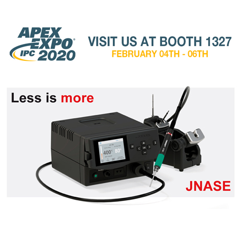 JBC exhibits at IPC Apex Expo 2020