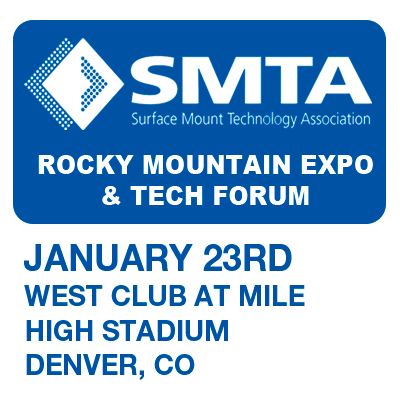 JBC exhibits at SMTA Rocky Mountain Expo & Tech Forum