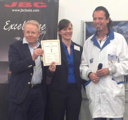 The winners of the IPC competition used a JBC soldering station