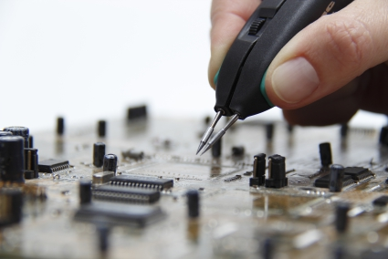 Soldering and repairing even more precise