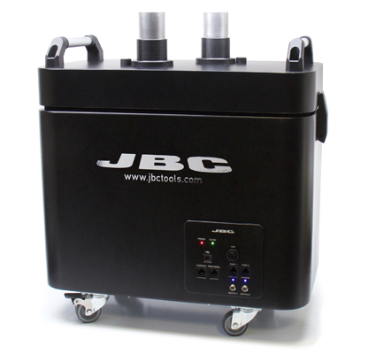Put safety first with JBC smart Fume Extractor
