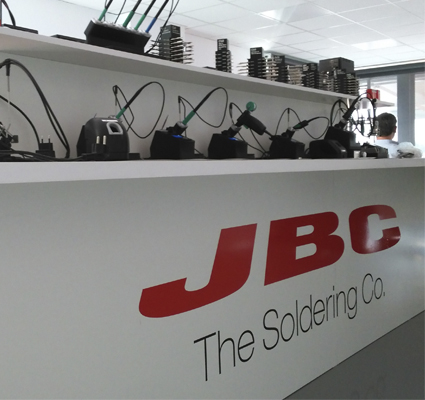 JBC`s new showroom opens its doors