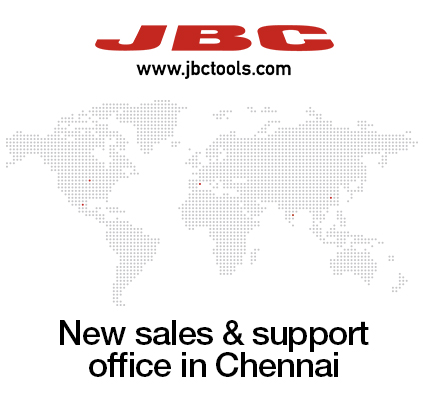 JBC opens new branch in India