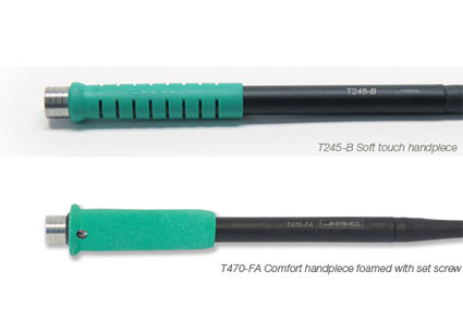 JBC expands the range of T245 and T470 handpieces