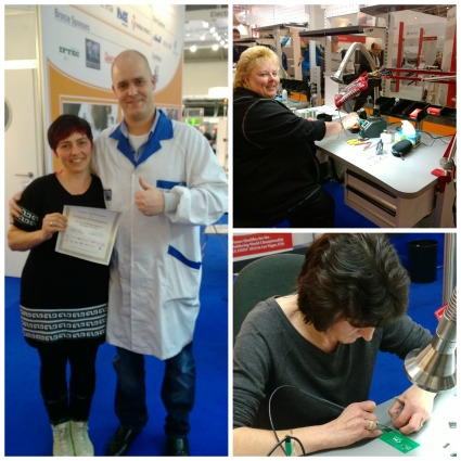 The IPC Hand Soldering contestants choose JBC for its
