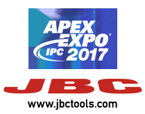 JBC exhibits at the IPC APEX EXPO 2017