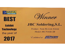 JBC Nano Rework Station wins Best Exhibit Technology award
