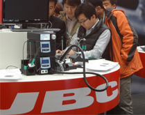 Successful participation for JBC in Productronica China 2013